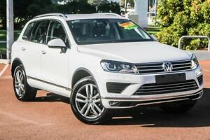 2017 Volkswagen Touareg 7P MY17 V6 TDI Tiptronic 4MOTION Adventure White 8 Speed Sports Automatic Cannington Canning Area Preview