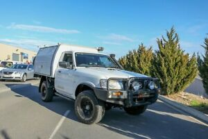 2008 Nissan Patrol GU 6 MY08 DX White 5 Speed Manual Cab Chassis Lonsdale Morphett Vale Area Preview