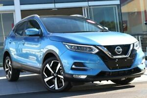 2018 Nissan Qashqai J11 Series 2 Ti X-tronic Vivid Blue 1 Speed Constant Variable Wagon Liverpool Liverpool Area Preview