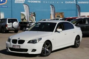 2005 BMW 525i E60 Steptronic White 6 Speed Sports Automatic Sedan Greenslopes Brisbane South West Preview
