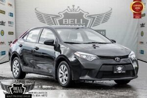 2014 Toyota Corolla LE, BACK-UP CAM, HEATED SEATS, BLUETOOTH, TO