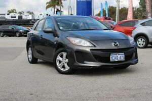 2012 Mazda 3 BL10F2 Neo Grey 6 Speed Manual Hatchback Greenfields Mandurah Area Preview