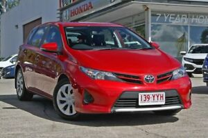 2014 Toyota Corolla ZRE182R Ascent S-CVT Red 7 Speed Constant Variable Hatchback Noosaville Noosa Area Preview