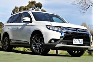2017 Mitsubishi Outlander ZK MY17 LS 2WD White 6 Speed Constant Variable Wagon Berwick Casey Area Preview