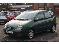 Renault Scenic 1.6 (Cheap family car with long MOT)