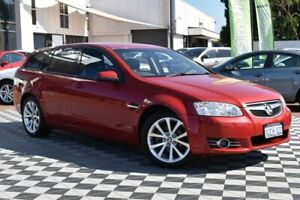 2012 Holden Commodore VE II MY12 Equipe Sportwagon Red/Black 6 Speed Sports Automatic Wagon Attadale Melville Area Preview