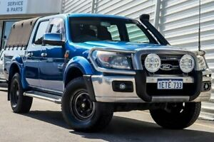 2010 Ford Ranger PK XLT Crew Cab Blue 5 Speed Automatic Utility