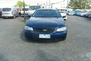 2004 Ford Falcon BA Classic Blue 4 Speed Auto Seq Sportshift Sedan