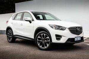 2015 Mazda CX-5 KE1032 Akera SKYACTIV-Drive AWD White 6 Speed Sports Automatic Wagon Maddington Gosnells Area Preview