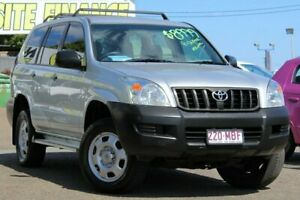 2003 Toyota Landcruiser Prado GRJ120R GX Silver 5 Speed Manual Wagon Moorooka Brisbane South West Preview