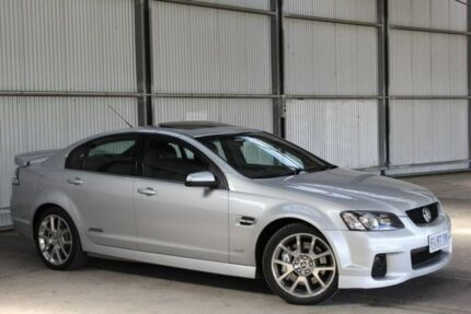 2011 Holden Commodore VE II MY12 SS V Silver 6 Speed Sports Automatic Sedan