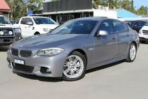 2011 BMW 5 Series F10 520d Steptronic Grey 8 Speed Sports Automatic Sedan Dandenong Greater Dandenong Preview