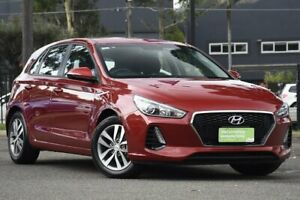2018 Hyundai i30 PD MY18 Active Red 6 Speed Sports Automatic Hatchback Condell Park Bankstown Area Preview
