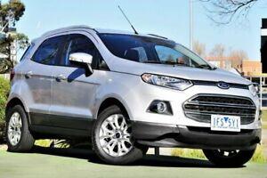 2015 Ford Ecosport BK Titanium PwrShift Silver 6 Speed Sports Automatic Dual Clutch Wagon Berwick Casey Area Preview