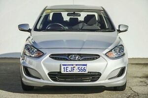 2013 Hyundai Accent RB2 Active Silver 6 Speed Manual Sedan Bellevue Swan Area Preview