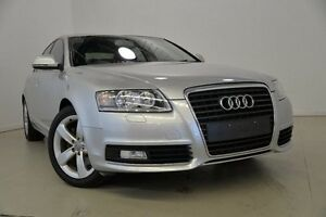 2009 Audi A6 4F MY10 Multitronic Silver 1 Speed Constant Variable Sedan Mansfield Brisbane South East Preview