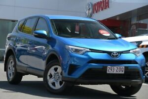 2017 Toyota RAV4 ZSA42R GX 2WD Blue Gem 7 Speed Constant Variable Wagon Woolloongabba Brisbane South West Preview
