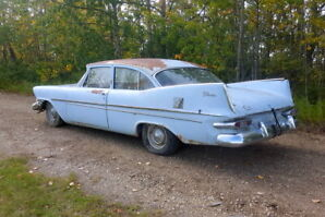 1959 Plymouth 2-door post--a very cool winter project