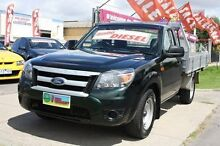 2009 Ford Ranger PK XL Green 5 Speed Manual Cab Chassis Altona North Hobsons Bay Area Preview