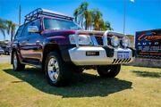 2005 Nissan Patrol GU IV ST (4x4) Maroon 5 Speed Manual Wagon Greenfields Mandurah Area Preview