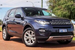 2017 Land Rover Discovery Sport L550 17MY TD4 150 HSE Blue 9 Speed Sports Automatic Wagon