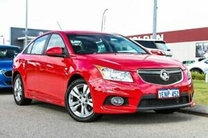 2013 Holden Cruze JH Series II MY14 SRi Red 6 Speed Sports Automatic Sedan Rockingham Rockingham Area Preview