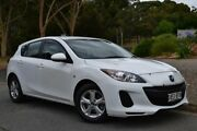 2012 Mazda 3 BL10F2 Neo White 6 Speed Manual Hatchback St Marys Mitcham Area Preview