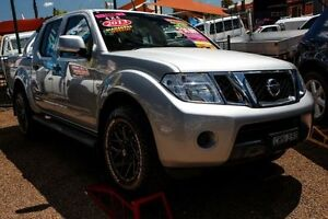 2012 Nissan Navara D40 S6 MY12 ST 4x2 Silver 5 Speed Sports Automatic Utility Colyton Penrith Area Preview