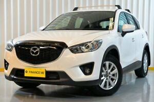 2013 Mazda CX-5 KE1021 MY13 Maxx SKYACTIV-Drive AWD Sport White 6 Speed Sports Automatic Wagon Hendra Brisbane North East Preview