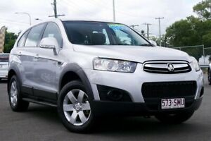 2012 Holden Captiva CG Series II MY12 7 SX Silver 6 Speed Sports Automatic Wagon Hillcrest Logan Area Preview