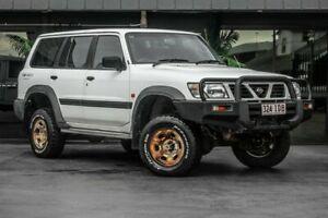 1999 Nissan Patrol GU ST White 5 Speed Manual Wagon