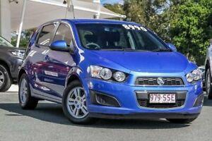 2012 Holden Barina TM Blue 5 Speed Manual Hatchback Noosaville Noosa Area Preview