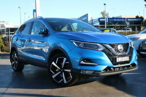 2018 Nissan Qashqai J11 Series 2 Ti X-tronic Blue 1 Speed Constant Variable Wagon Penrith Penrith Area Preview