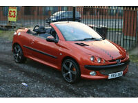 Peugeot 206 CC 2.0 (Cheap convertible with long MOT)