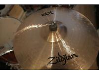 Zildjian ZBT pro cymbal box set.