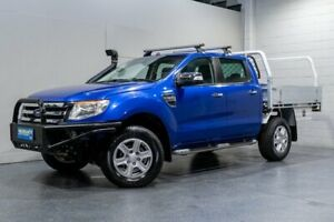 2014 Ford Ranger PX XLT 3.2 (4x4) Blue 6 Speed Manual Dual Cab Utility Woodridge Logan Area Preview