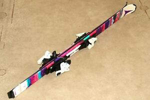 New, Never Used Atomic 130cm skis/bindings & size 23/23.5 boots London Ontario image 1
