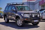 2009 Toyota Landcruiser VDJ200R Sahara Grey 6 Speed Sports Automatic Wagon Myaree Melville Area Preview
