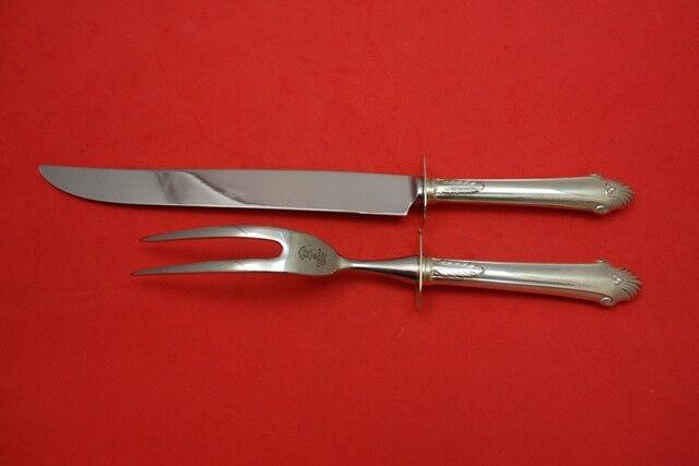 "Edgemont by Gorham Sterling Silver Steak Carving Set 2pc 12"" HHWS"