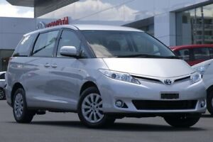 2015 Toyota Tarago ACR50R MY13 GLi Silver 7 Speed Constant Variable Wagon Woolloongabba Brisbane South West Preview