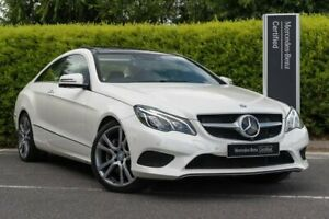 2014 Mercedes-Benz E-Class C207 805MY E400 7G-Tronic + White 7 Speed Sports Automatic Coupe Narre Warren Casey Area Preview