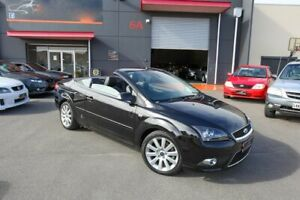 2007 Ford Focus LT Coupe Cabriolet Black 5 Speed Manual Convertible Lonsdale Morphett Vale Area Preview