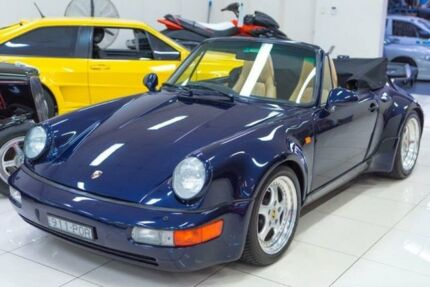 1975 Porsche 911 Carrera 3.0 Blue 5 Speed Manual Targa Carss Park Kogarah Area Preview