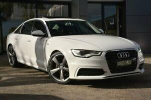 2014 Audi A6 C7 (No Badge) White Constant Variable Berwick Casey Area Preview