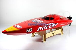 RC 2CH Brushless Bullet Deep Vee Racing Boat PNP BRAND NEW