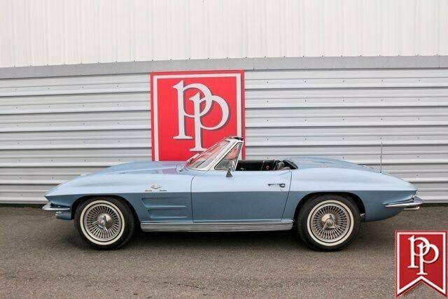 1963 Blue Chevrolet Corvette Convertible  | C2 Corvette Photo 2