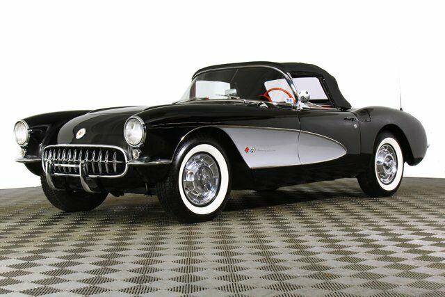 1957 Black Chevrolet Corvette     C1 Corvette Photo 2