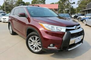 2014 Toyota Kluger GSU50R Grande 2WD Burgundy 6 Speed Sports Automatic Wagon Dandenong Greater Dandenong Preview