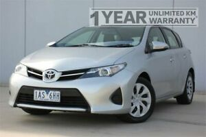 2013 Toyota Corolla ZRE152R MY11 Ascent Silver 4 Speed Automatic Sedan Carrum Downs Frankston Area Preview