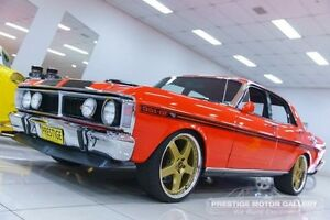 1971 Ford Falcon XY GT Vermillion Red 3 Speed Automatic Sedan Carss Park Kogarah Area Preview